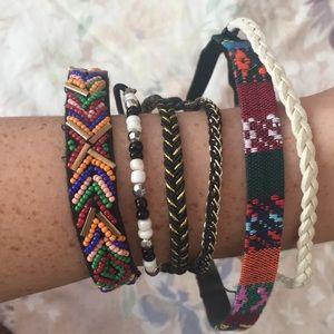 New 6 headbands from Free People hippie bohemian✨
